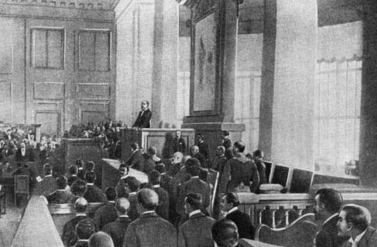 При Императоре Николае Втором в России более ста вузов со 150 000 студентов